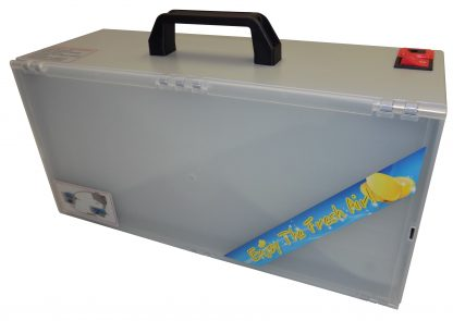 Compact Vigiart LED Portable Spray Booth with Bonus Exhaust Vent